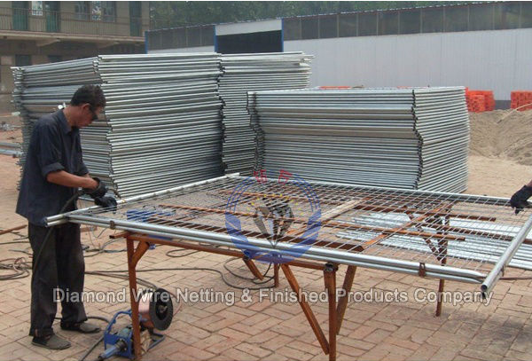 Temporary Fence Production Line & Fittings