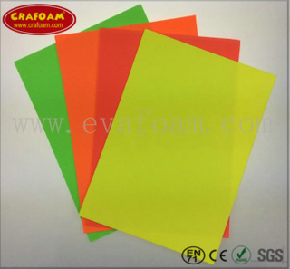 Fluorescence EVA Foam Sheets