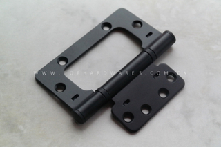 EZ HINGES 4''x3.5''x2.5mm BK