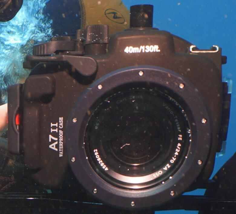 Can I Use Sony A7 Housing with Underwater Strobes?