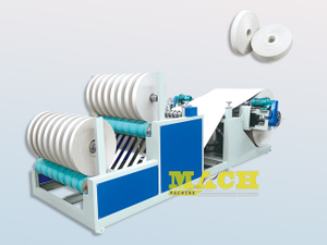 Automatic Kraft Paper Slitting and Rewinding Machine