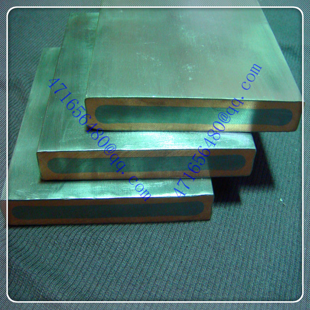 316L stainless steel clad copper composite plate for aerospace