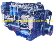 198HP 2300RPM Weichai Deutz marine propulsion boat diesel engine (WP6C198-23)