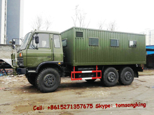 6x6 service truck workshop truck