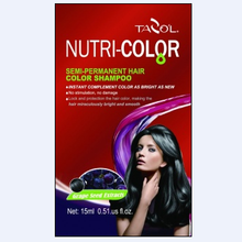 Sacheted Nutricolor Semi-Permanent Hair Color Shampoo