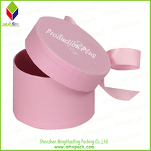 Pink Printing Paper Round Packing Ring Box