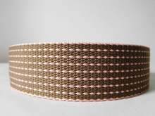 38mm polyester cotton webbing for garment accessories