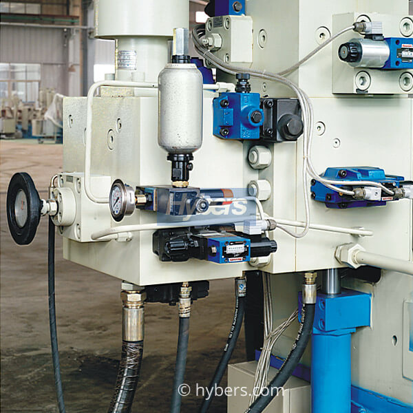 press emitting and pressure increase system
