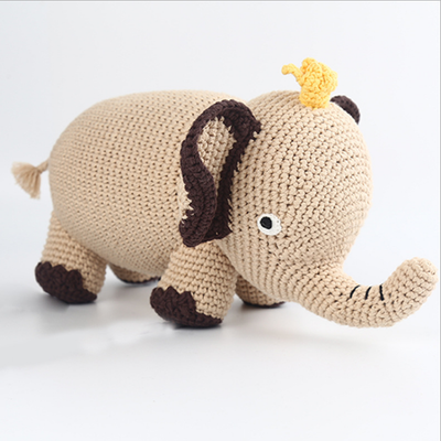 Hand Knitted Elephant
