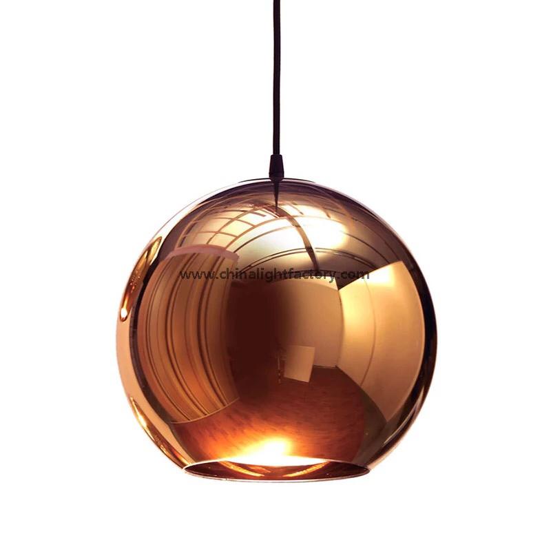 Tom dixon copper shade pendant light mirror ball glass pendant lamp tom dixon copper shade pendant light mirror ball glass pendant lamp 4026101 aloadofball Images