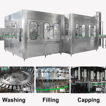 DCGF 50-50-15 Carbonated Drink 3-in-1 Filling Machine