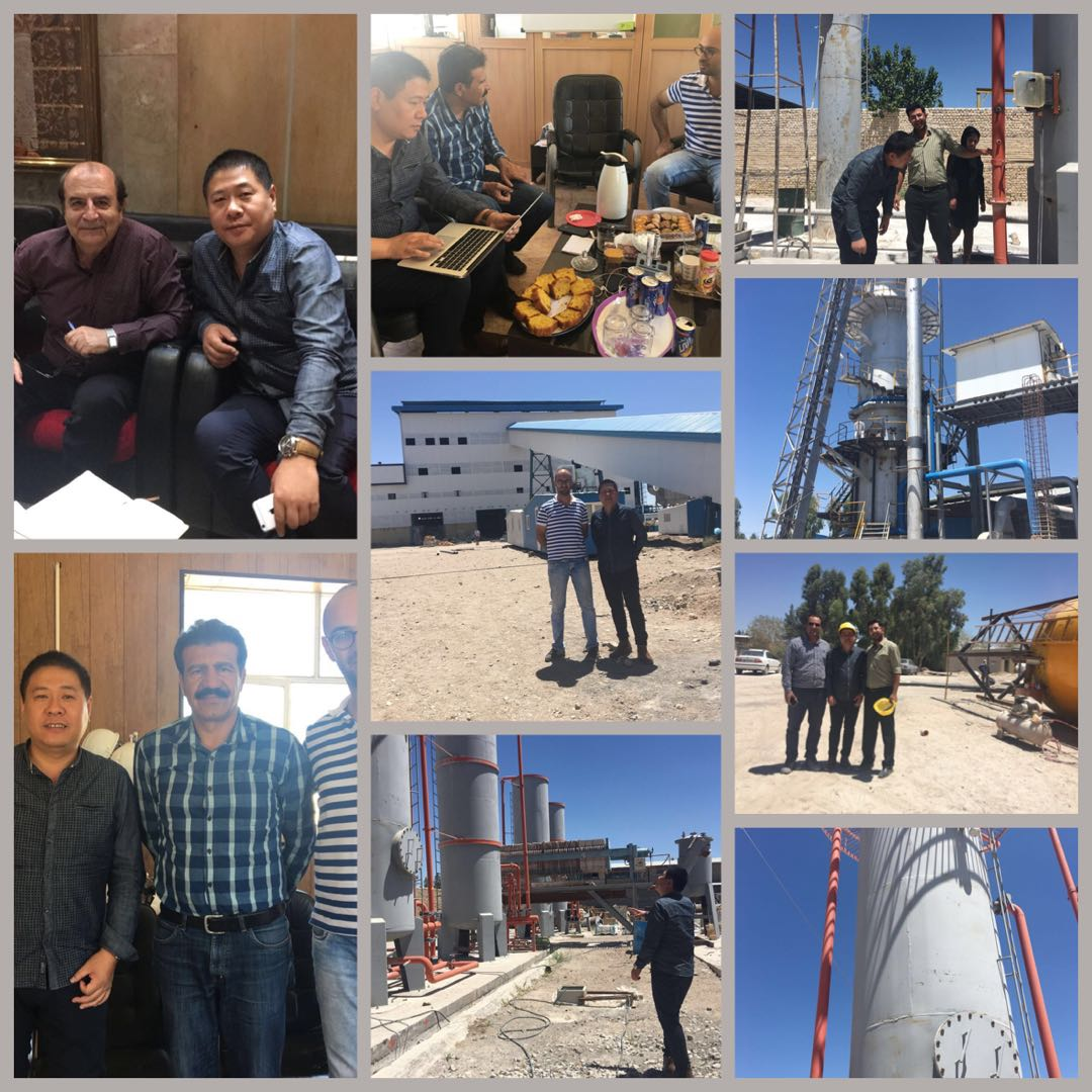 Different countries customer meeting for Nano Calcium Carbonate production line building