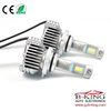 Smallest P12 45W 6500lm universal HB3 9005 car led headlight with built-in fan( 100% suitable for all cars)