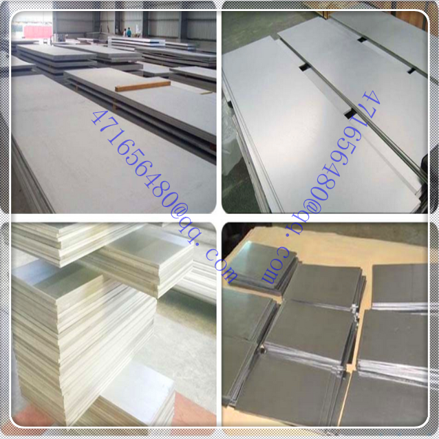 titanium plate for heat exchanger