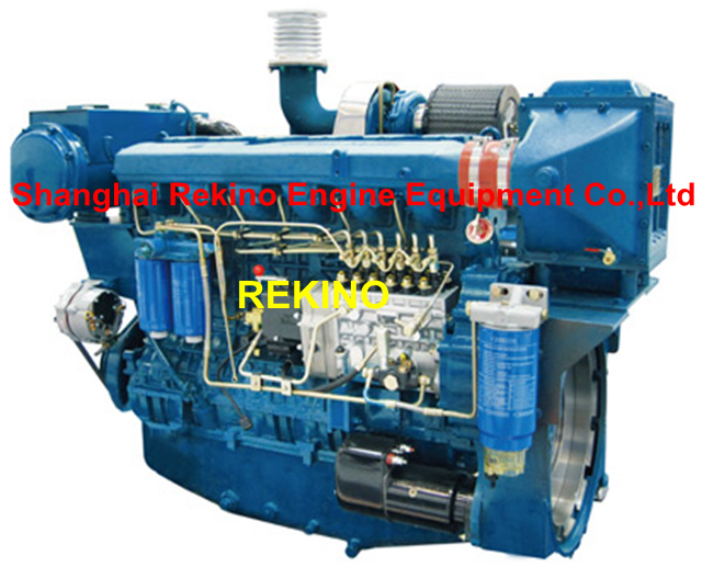 Weichai WP13C550-18 marine main propulsion boat diesel engine 550HP 1800RPM