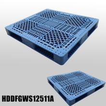 L1250W1120H140mm Double Faced Plastic PalletNestableopen Deck