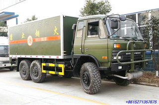 Dongfeng 6x6 Explosive Transportation truck