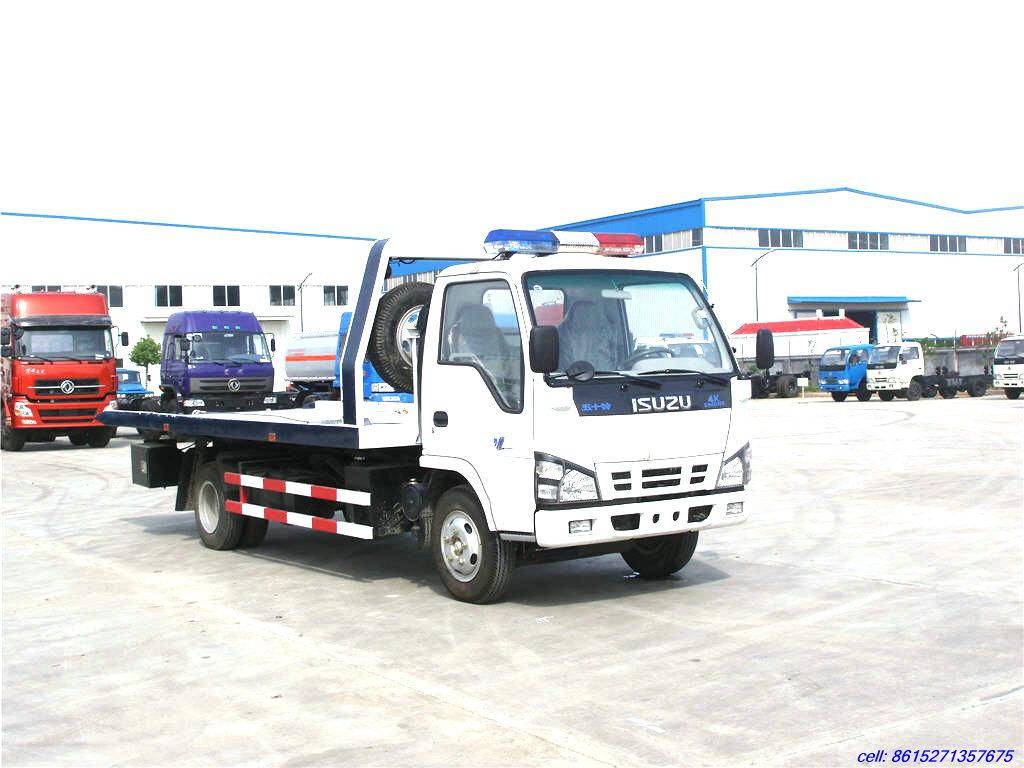 Isuzu rollback tow truck car carriers