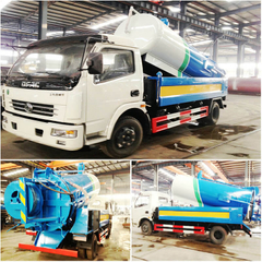 8-10CBM High-pressure Sewer Jet Truck