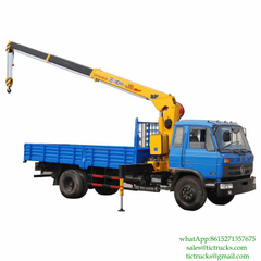 6.3T 170HP Crane Vehicle 4x2 for sale Euro 3/4 ,5