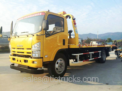LHD/RHD  Road recovery wrecker truck  Customization