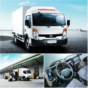 Nissan small cabstar van /Cargo truck