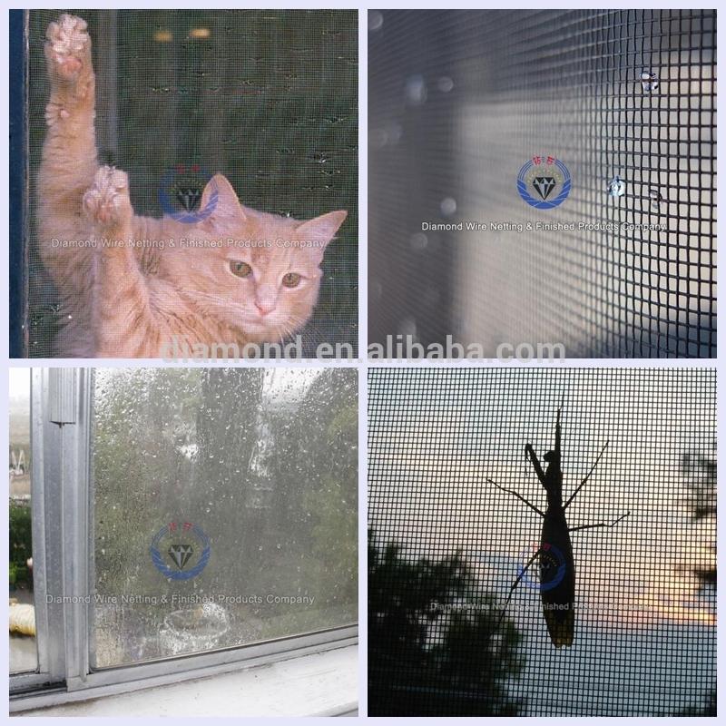 316L Stainless Steel Diamond Window Screen Security Mesh