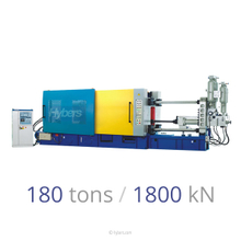 180tons/1800kN Cold Chamber Die Casting Machines