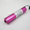 Metal LED Flashlight with decorative diamond