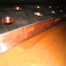 electroplating use GR2 TITANIUM CLAD COPPER SHEET