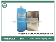 Compatible Comcolor Ink HC5500 & Comcolour Cyan Color Ink