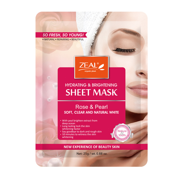 Zeal Hydrating & Brightening Sheet Mask