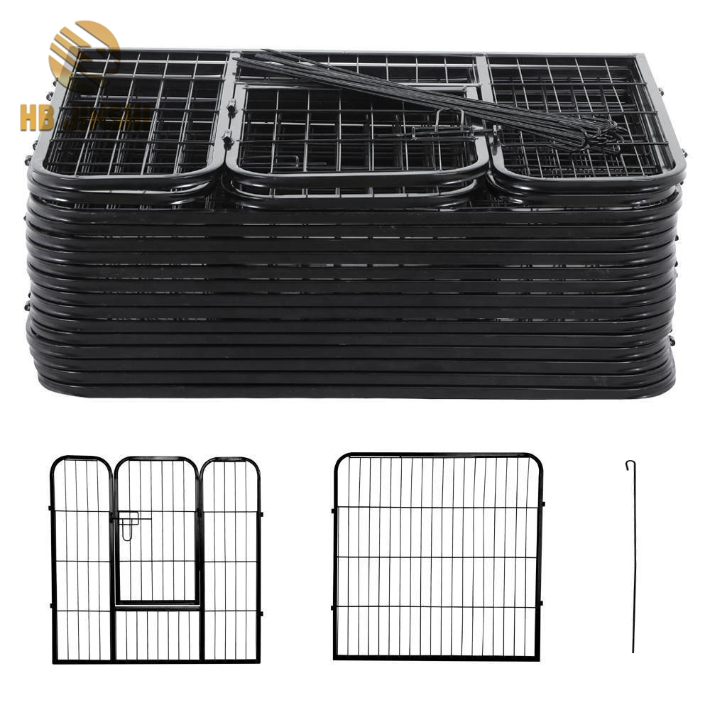 8 panels Metal Welded Wire Pet Play Ground Dog Kennel - Buy Product ...