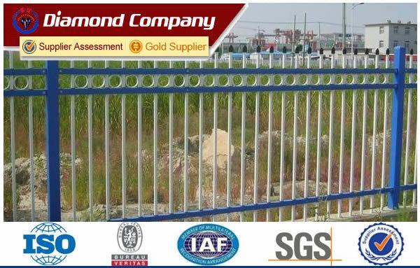Zinc steel guardrail fence