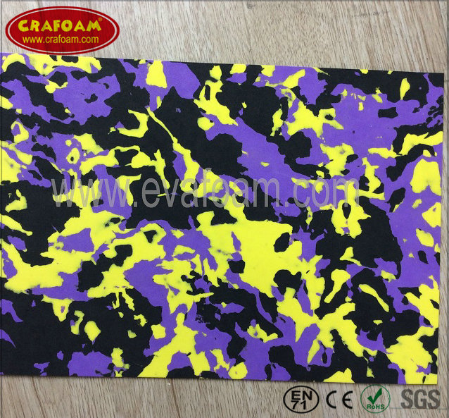 Multicolor EVA Foam Sheets