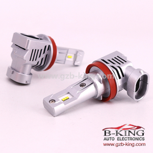 M3 haogen bulb size H8 H9 H11 6000lm car zes led headlight