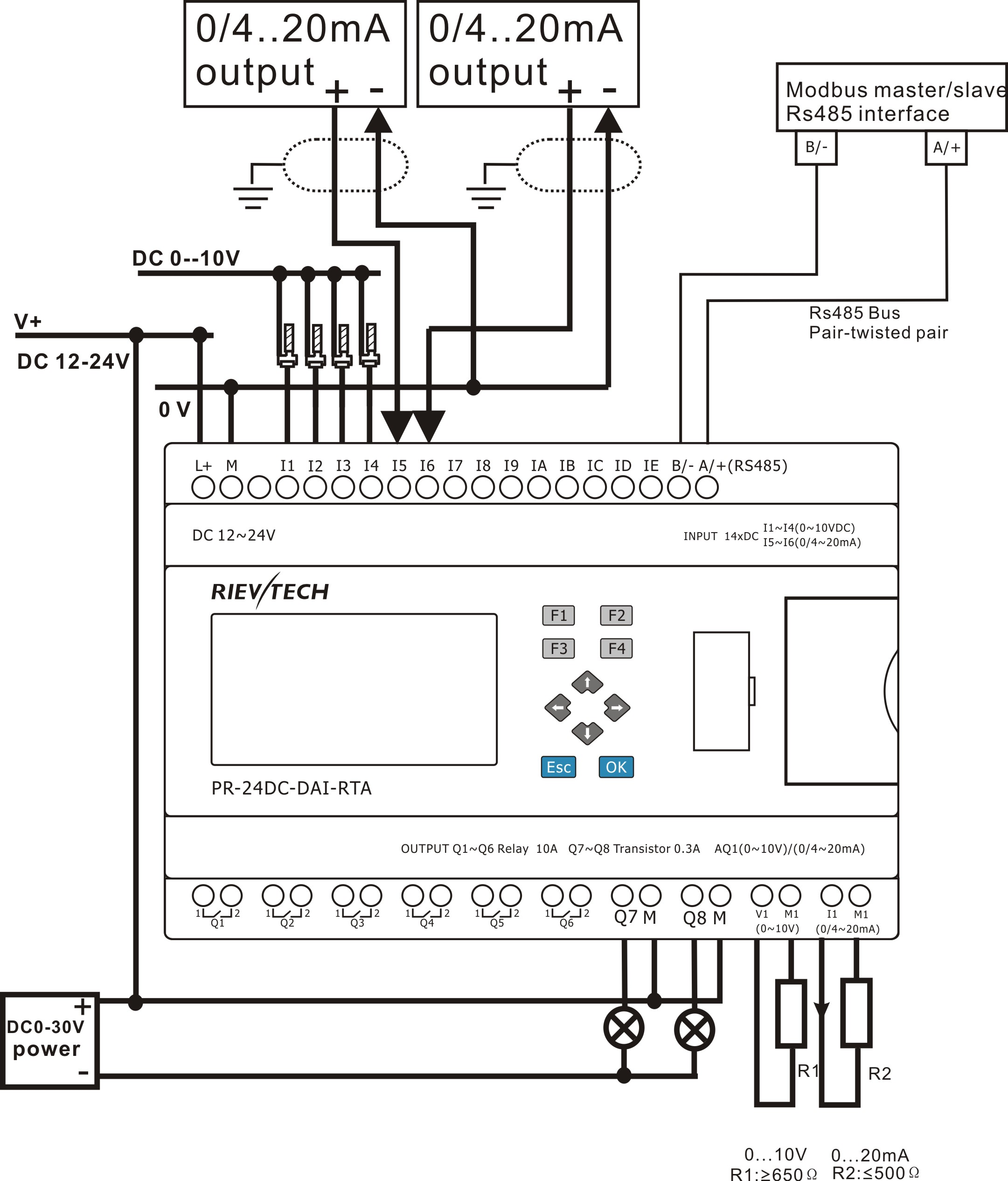 PR 24DC DAI RTA Pd20130 on two wire smoke detector wiring schematic