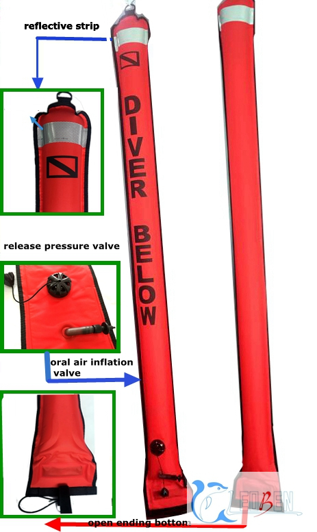 Scuba Diving Surface Marker Bouy SMB