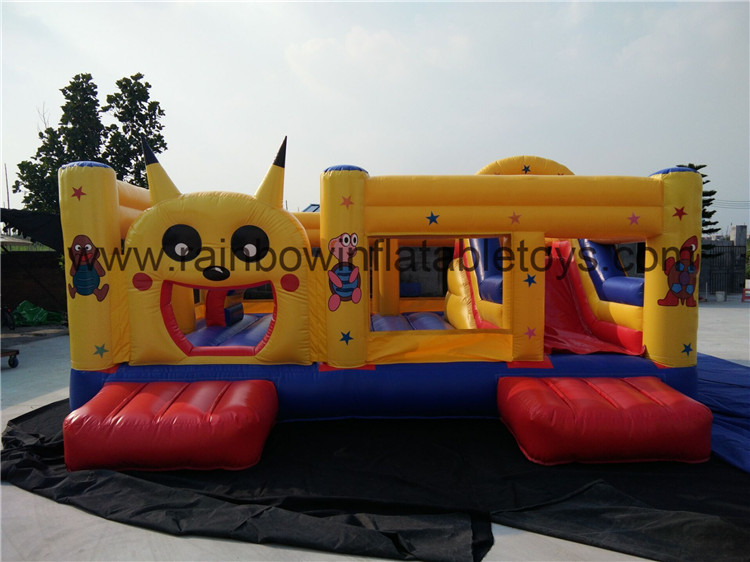 RB4092(6x6x3m) Inflatables Happy Pikachu Theme Bouncy