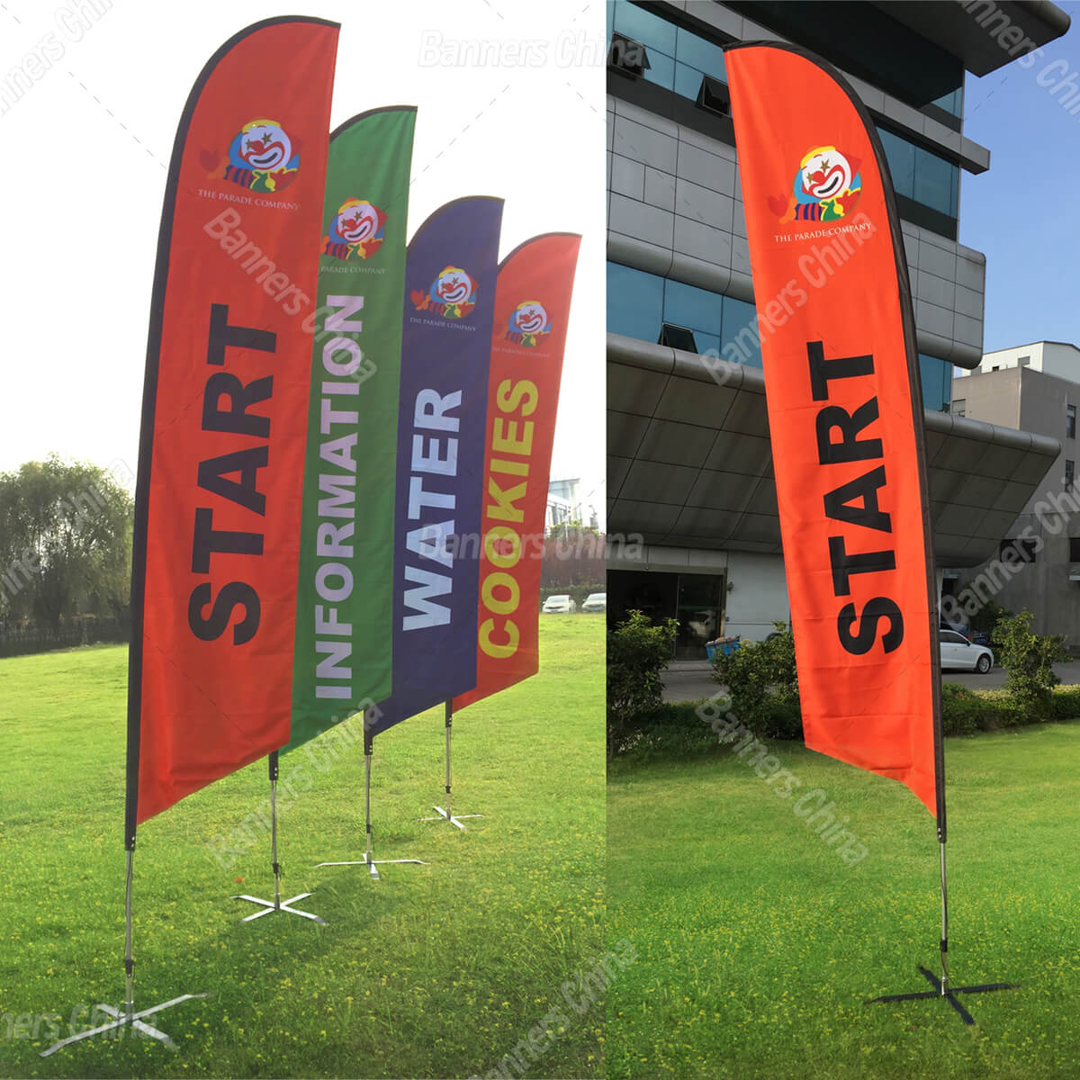 Feather Flag Banners From China Manufacturer Banners China