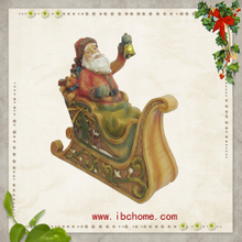 Resin santa gifts,Santa christmas ornaments,christmas tree decoration