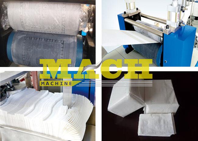 Automatic Napkin Paper Making Machine
