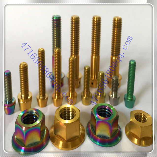 factory various titanium screws fastener