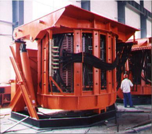 Medium-Frequency Induction Furnace From Alice