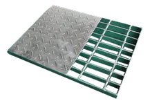 Compound Steel Grating With High Quality