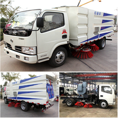 Durable Dongfeng DFAC 4x2 light sweeper truck