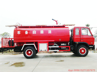 EQ 4x2 10T water tanker fire truck