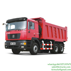 Dumping Truck SHACMAN for sale Euro3, 4 ,5