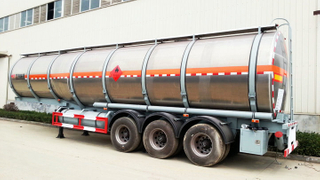 TIC cheaper Aluminium alloy Tanker Truck 50000Liters