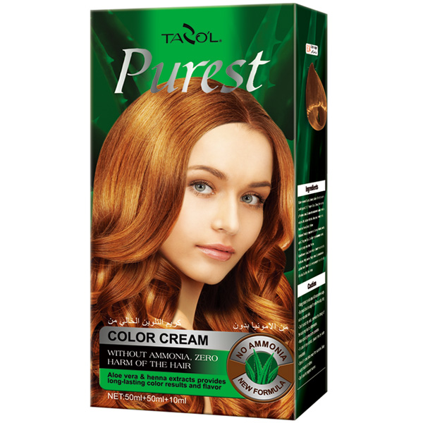 2016 No Ammonia Natural Hair Color Cream for Colorful Hair